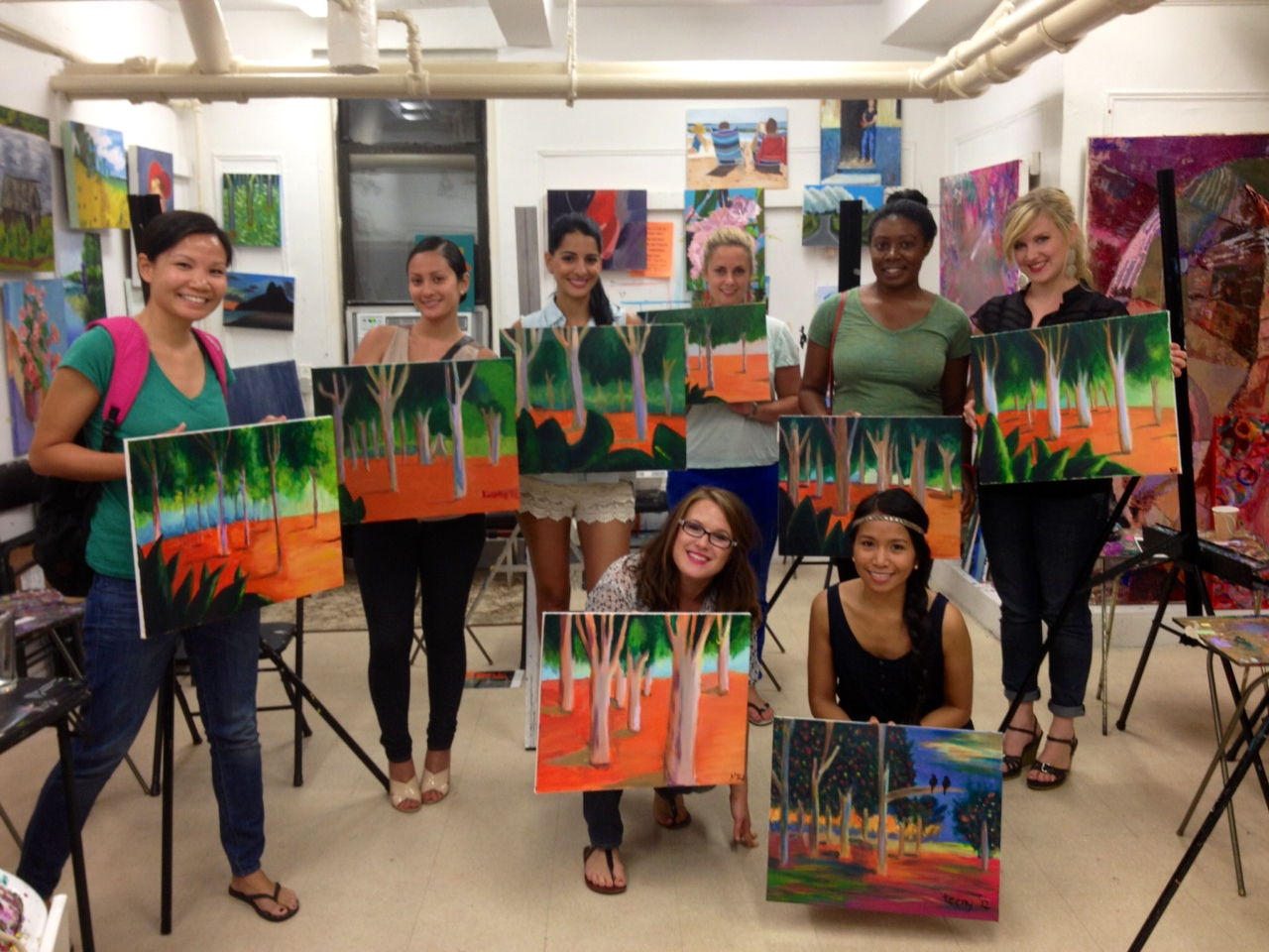 nyc s most inspiring art classes for the heart wine and