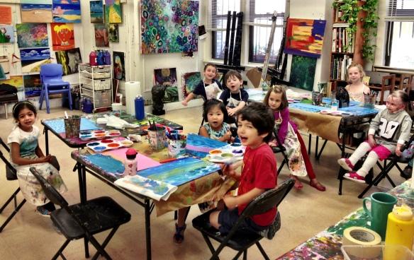 Children s art classes nyc the new york art whisperer for Art and craft classes for kids